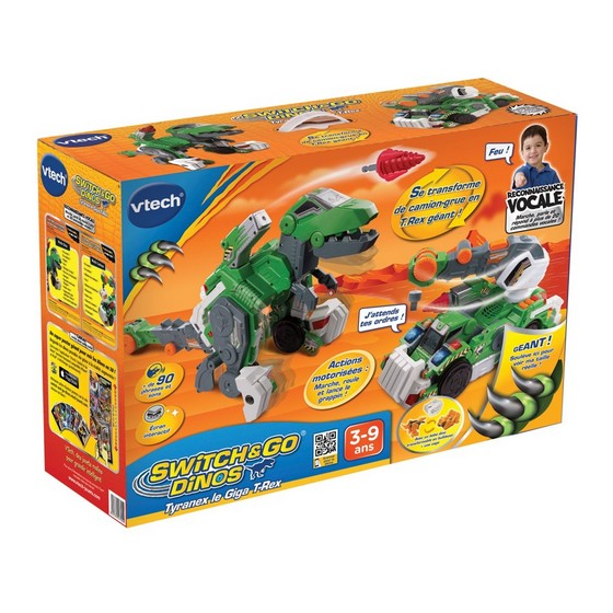 Switch & Go Dinos - Tyranex le Giga T-Rex