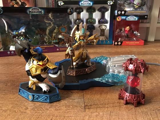 Earth Skylanders imaginators imaginite Classe Autocollants seulement!